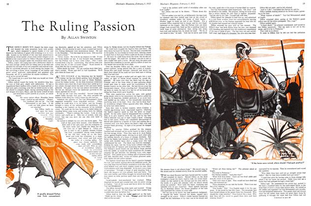 Article Preview: The Ruling Passion, February 1ST 1933 1933 | Maclean's