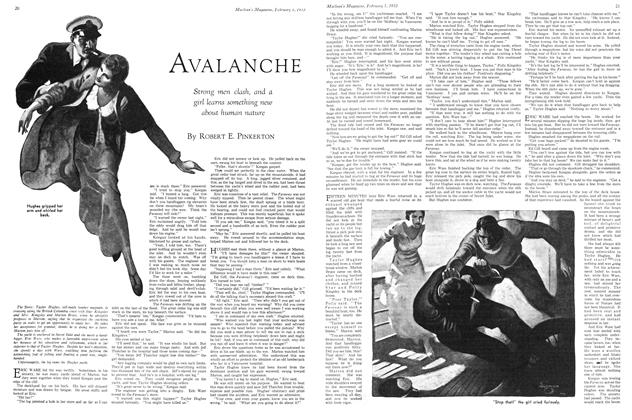 Article Preview: AVALANCHE, February 1ST 1933 1933 | Maclean's