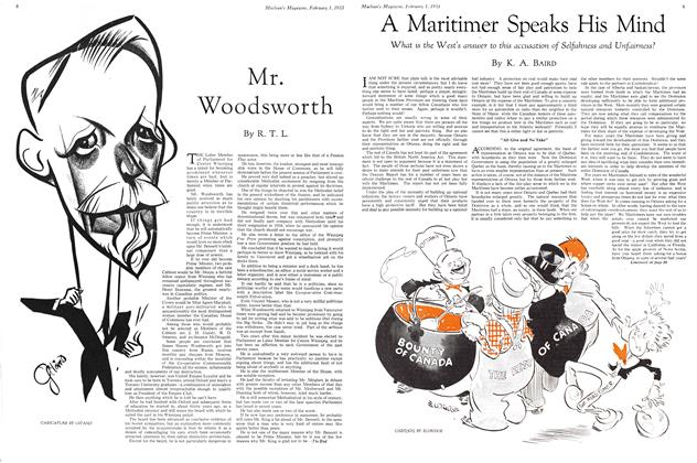 Article Preview: Mr. Woodworth, February 1ST 1933 1933 | Maclean's