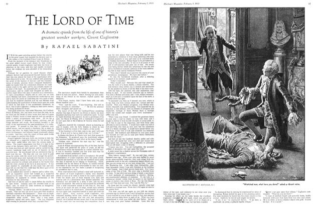 Article Preview: THE LORD OF TIME, February 1ST 1933 1933 | Maclean's