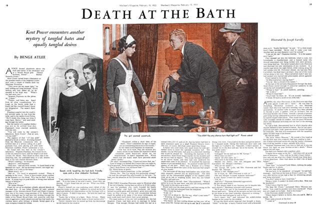 Article Preview: DEATH AT THE BATH, February 15TH 1933 1933 | Maclean's