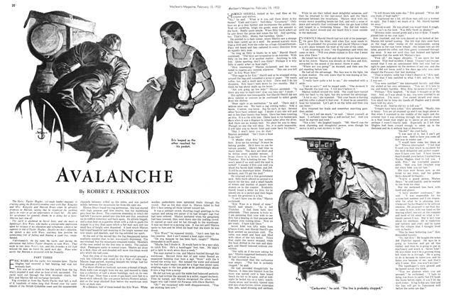 Article Preview: AVALANCHE, February 15TH 1933 1933 | Maclean's