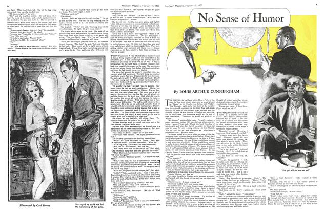 Article Preview: No Sense of Humor, February 15TH 1933 1933 | Maclean's