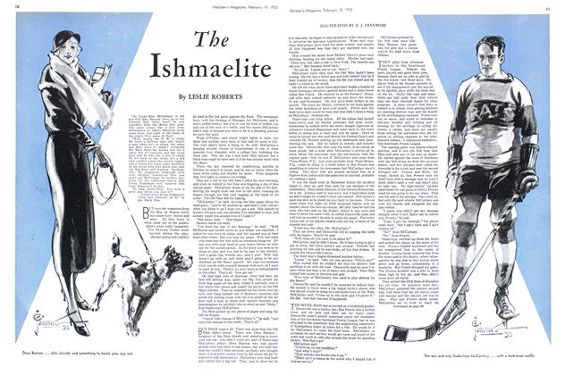 Article Preview: The Ishmaelite, February 15TH 1933 1933 | Maclean's