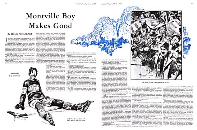 Article Preview: Montville Boy Makes Good, March 1st 1933 1933 | Maclean's