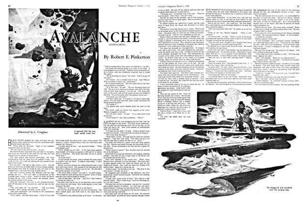 Article Preview: AVALANCHE (CONCLUSION), March 1st 1933 1933 | Maclean's