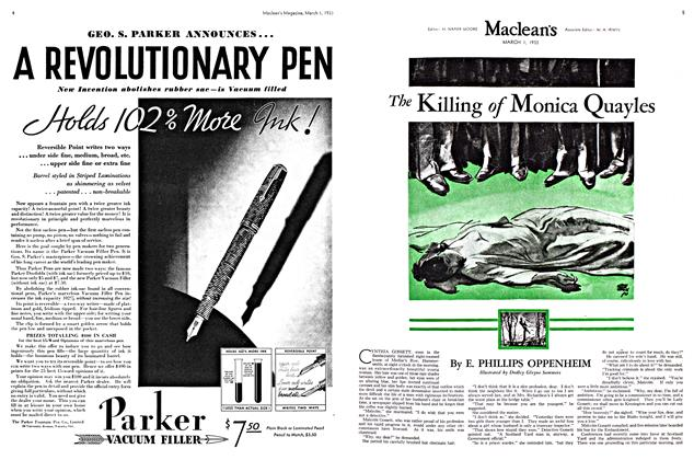 Article Preview: The Killing of Monica Quayles, March 1st 1933 1933 | Maclean's
