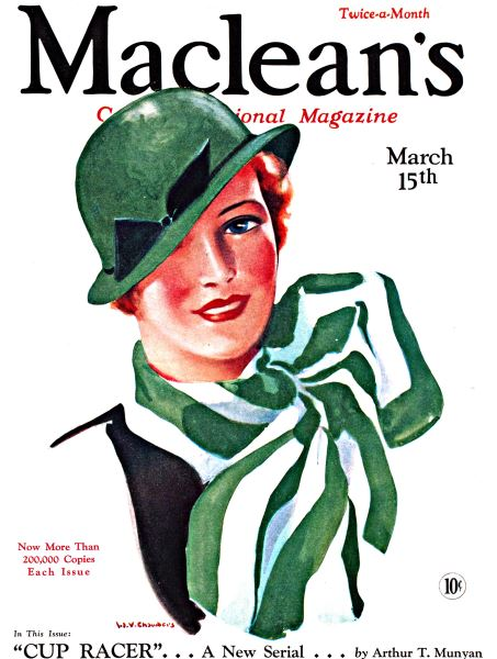 Issue: - March 15th 1933 | Maclean's