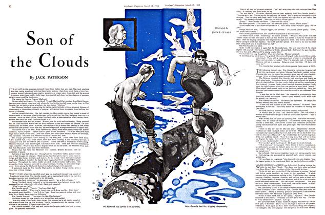 Article Preview: Son of the Clouds, March 15th 1933 | Maclean's