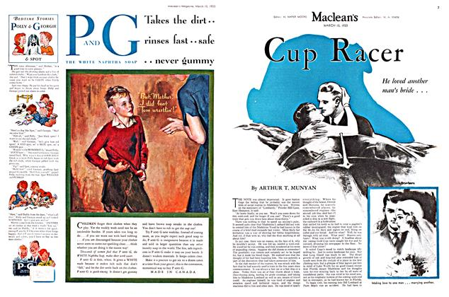 Article Preview: Cup Racer, March 15th 1933 | Maclean's