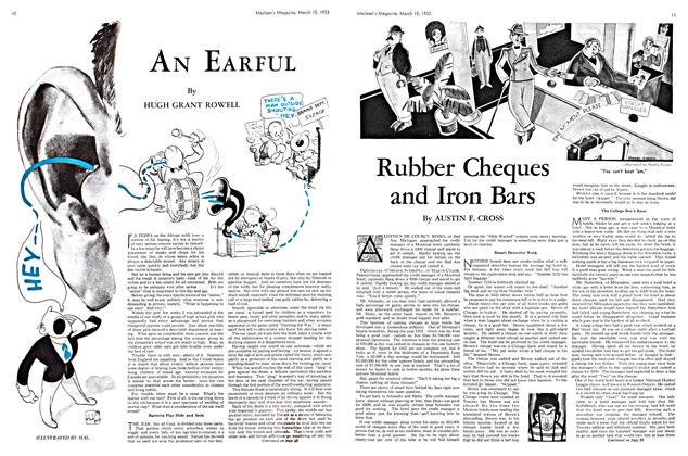 Article Preview: AN EARFUL, March 15th 1933 | Maclean's