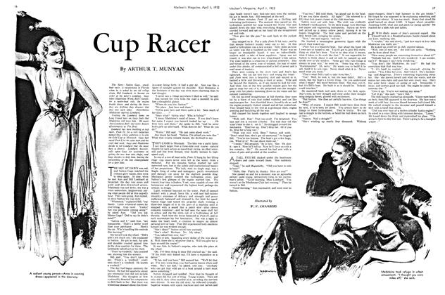 Article Preview: Cup Racer, April 1ST 1933 | Maclean's