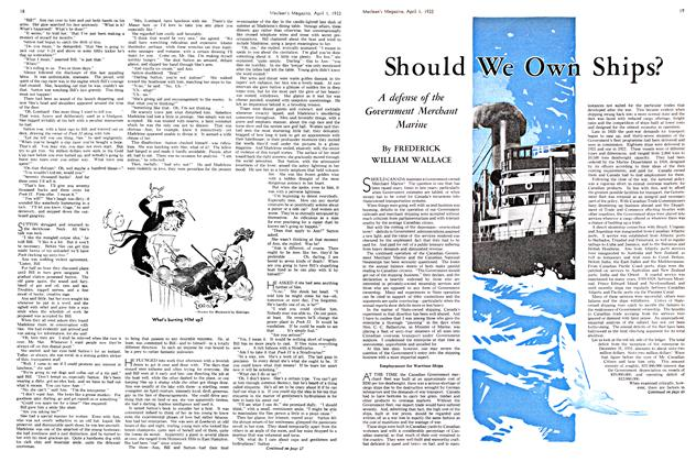 Article Preview: Should We Own Ships?, April 1ST 1933 | Maclean's
