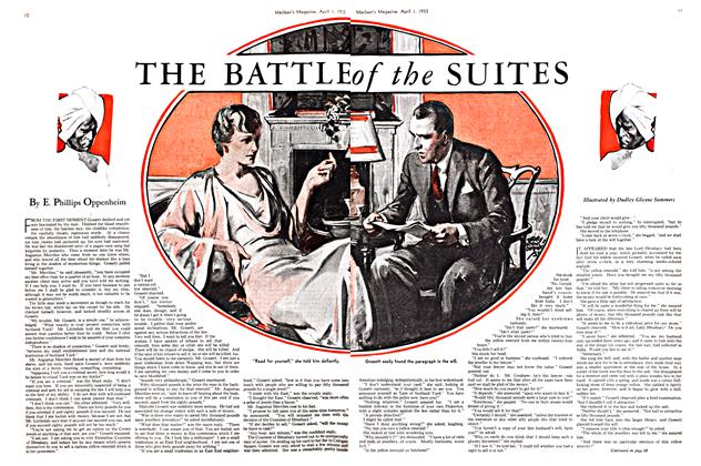 Article Preview: THE BATTLE of the SUITES, April 1ST 1933 | Maclean's