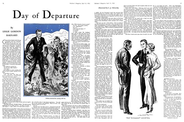 Article Preview: Day of Departure, April 15th 1933 | Maclean's