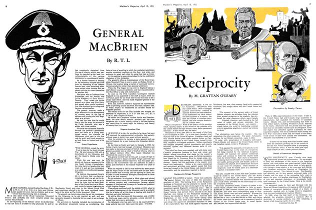 Article Preview: Reciprocity, April 15th 1933 | Maclean's