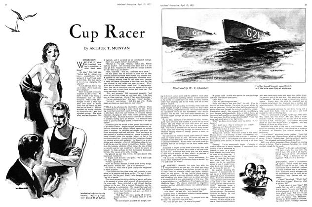 Article Preview: Cup Racer, April 15th 1933 | Maclean's
