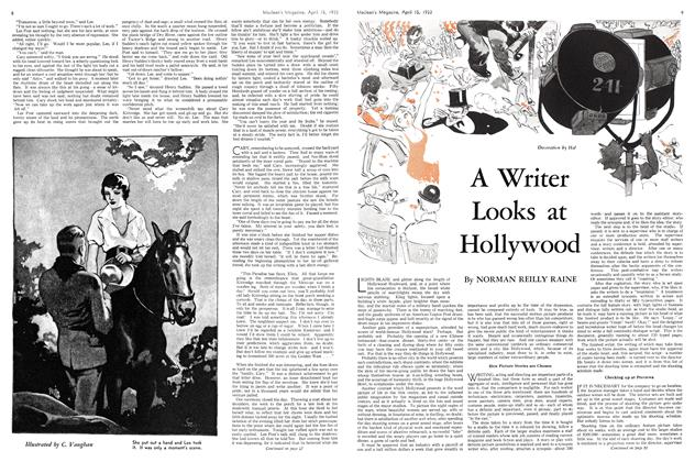 Article Preview: A Writer Looks at Hollywood, April 15th 1933 | Maclean's