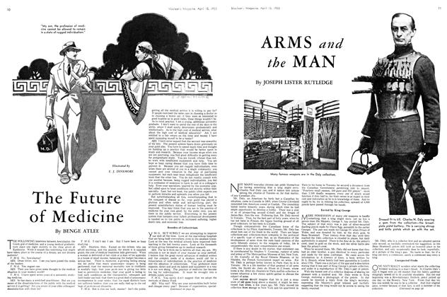 Article Preview: ARMS and the MAN, April 15th 1933 | Maclean's