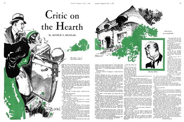 Article Preview: Critic on the Hearth, May 1st 1933 | Maclean's