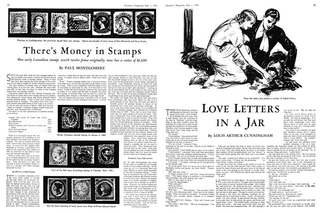 Article Preview: LOVE LETTERS IN A JAR, May 1st 1933 | Maclean's