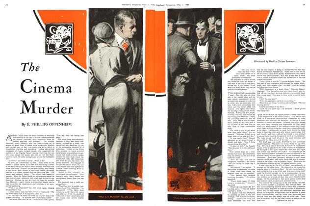 Article Preview: The Cinema Murder, May 1st 1933 | Maclean's