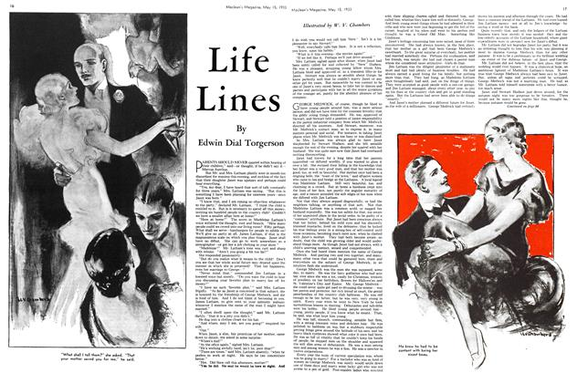 Article Preview: Life Lines, May 15TH 1933 | Maclean's