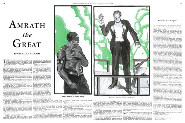 Article Preview: AMRATH the GREAT, May 15TH 1933 | Maclean's