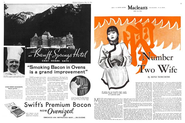 Article Preview: Number Two wife, May 15TH 1933 | Maclean's