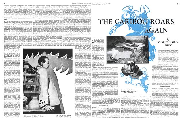 Article Preview: THE CARIBOO ROARS AGAIN, May 15TH 1933 | Maclean's