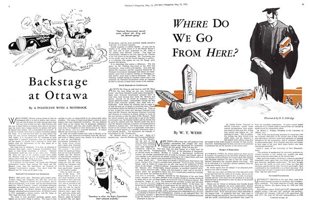 Article Preview: WHERE DO WE GO FROM HERE?, May 15TH 1933 | Maclean's