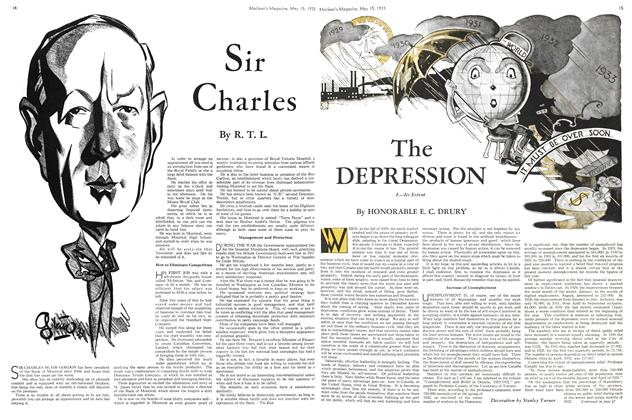 Article Preview: The DEPRESSION, May 15TH 1933 | Maclean's