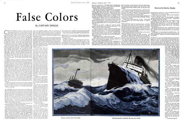 Article Preview: False Colors, June 1933 | Maclean's