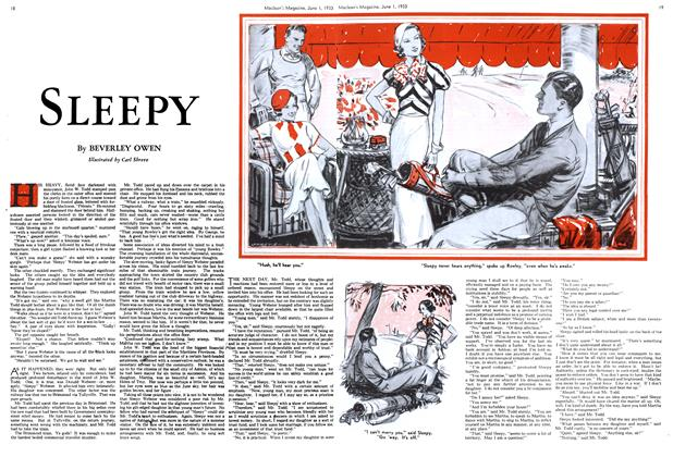 Article Preview: SLEEPY, June 1933 | Maclean's