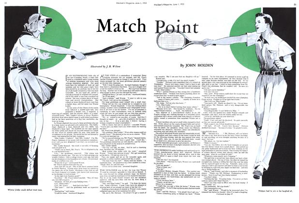 Article Preview: Match Point, June 1933 | Maclean's