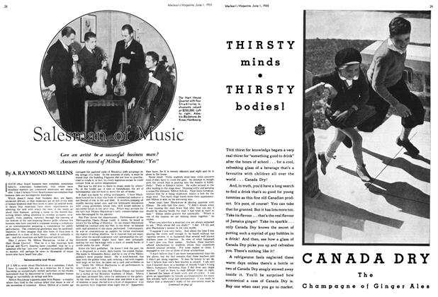 Article Preview: Salesman of Music, June 1933 | Maclean's