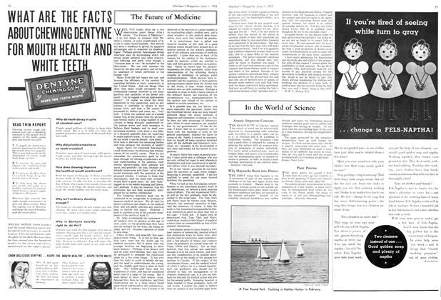 Article Preview: The Future of Medicine, June 1933 | Maclean's