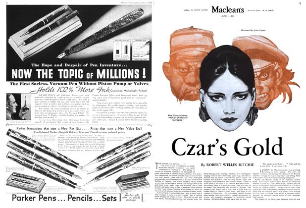 Article Preview: Czar's Gold, June 1933 | Maclean's