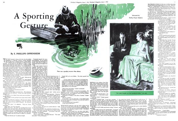 Article Preview: A Sporting Gesture, June 1933 | Maclean's