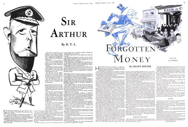 Article Preview: SIR ARTHUR, June 1933 | Maclean's