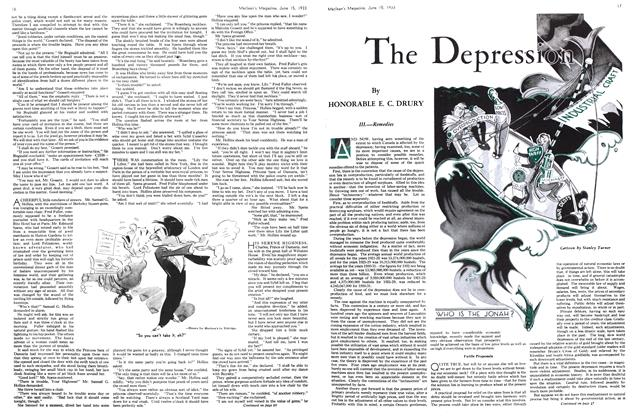 Article Preview: The Depression, JUNE 1 5TH, 1933 1933 | Maclean's