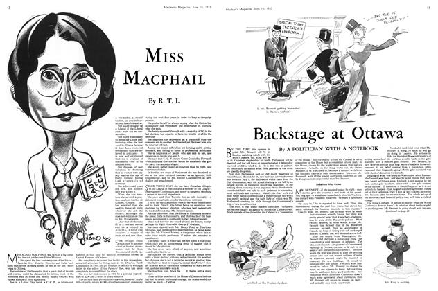 Article Preview: MISS MACPHAIL, JUNE 1 5TH, 1933 1933 | Maclean's
