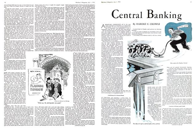 Article Preview: Central Banking, July 1st 1933 1933 | Maclean's