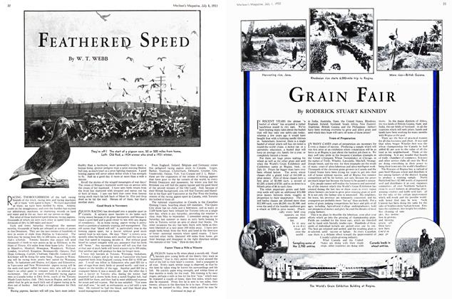 Article Preview: FEATHERED SPEED, July 1st 1933 1933 | Maclean's