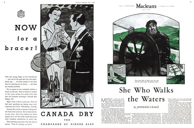 Article Preview: She Who Walks the Waters, July 1st 1933 1933 | Maclean's