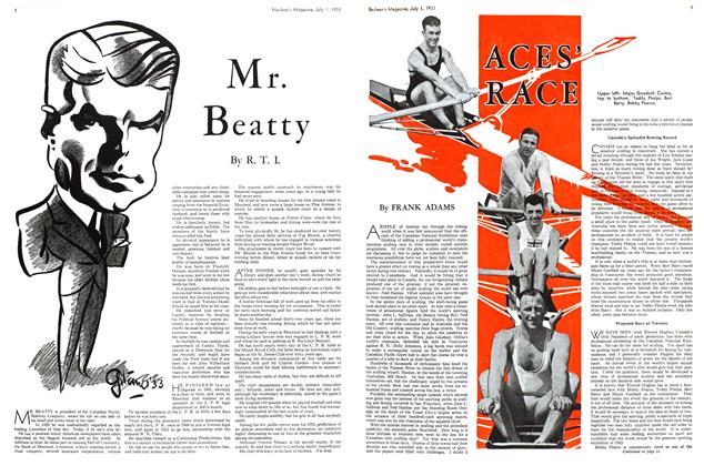 Article Preview: ACES' RACE, July 1st 1933 1933 | Maclean's