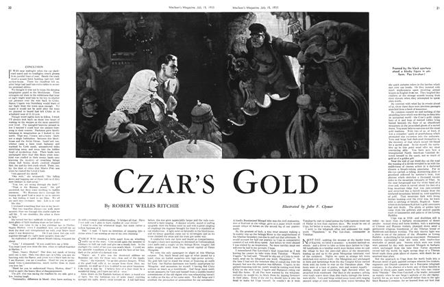 Article Preview: CZAR'S GOLD, July 15th 1933 1933 | Maclean's