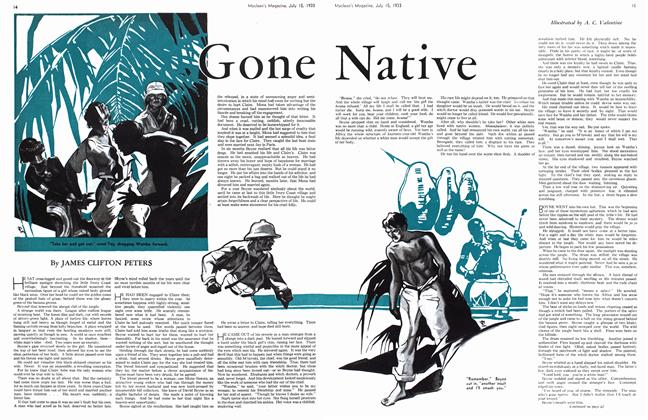 Article Preview: Gone Native, July 15th 1933 1933 | Maclean's