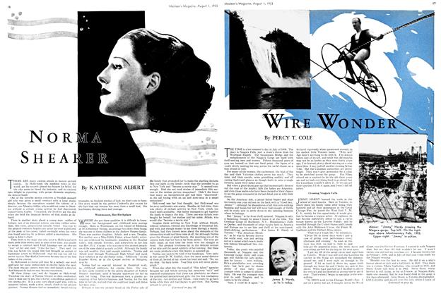 Article Preview: WIRE WONDER, August 1st 1933 1933 | Maclean's