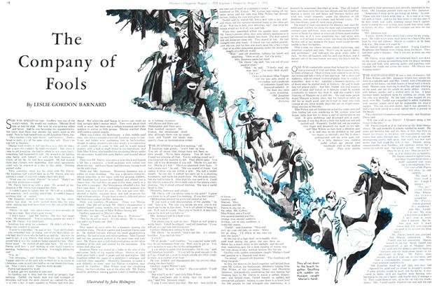 Article Preview: The Company of Fools, August 1st 1933 1933 | Maclean's